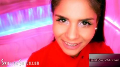 Swallow Salon - Katya Rodriguez Swallows Every Single Drop