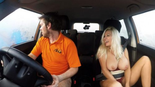 Fake driving school advanced horny lesson in sweaty mess 6