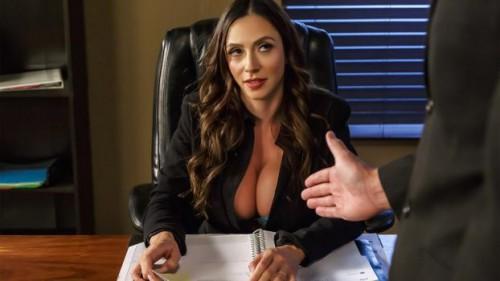 Big Tits At Work - Ariella Ferrera