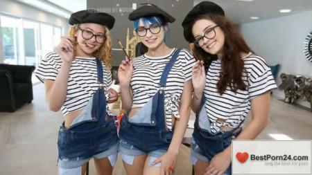 BFFs - Allie Addison, Lily Glee & Jewelz Blu