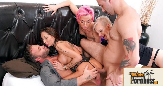 Grand Mams - A Group Of Horny Grannies