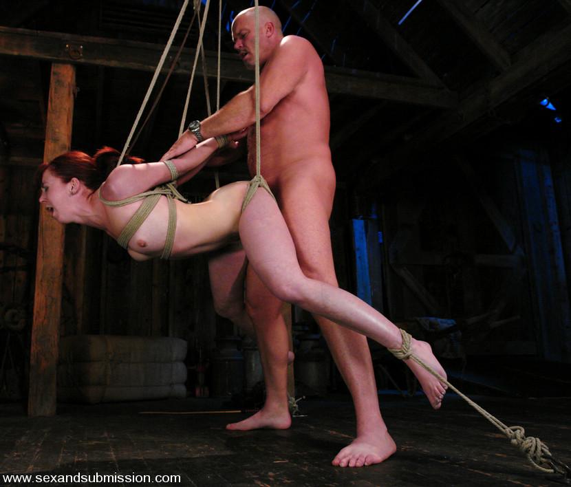 BestBDSM24.com - Image 4690 - Trinity is amazing in first time boy/girl bondage sex.