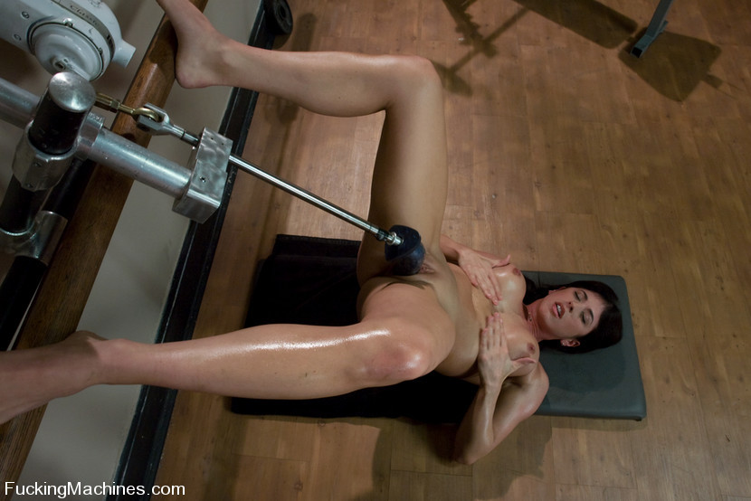BestBDSM24.com - Image 6077 - Pilates Instructor - Elyse stretches for the machines