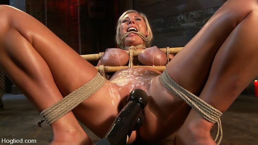 BestBDSM24.com - Image 7755 - Skylar Price: Blond Bombshell Bamboo Bound