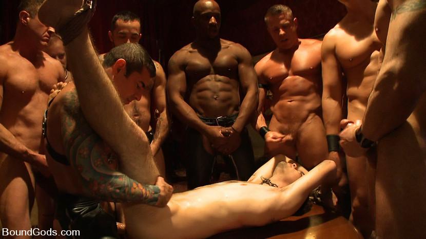 BestBDSM24.com - Image 7853 - All Male Bondage Gang Bang on the Upper Floor Live Shoot