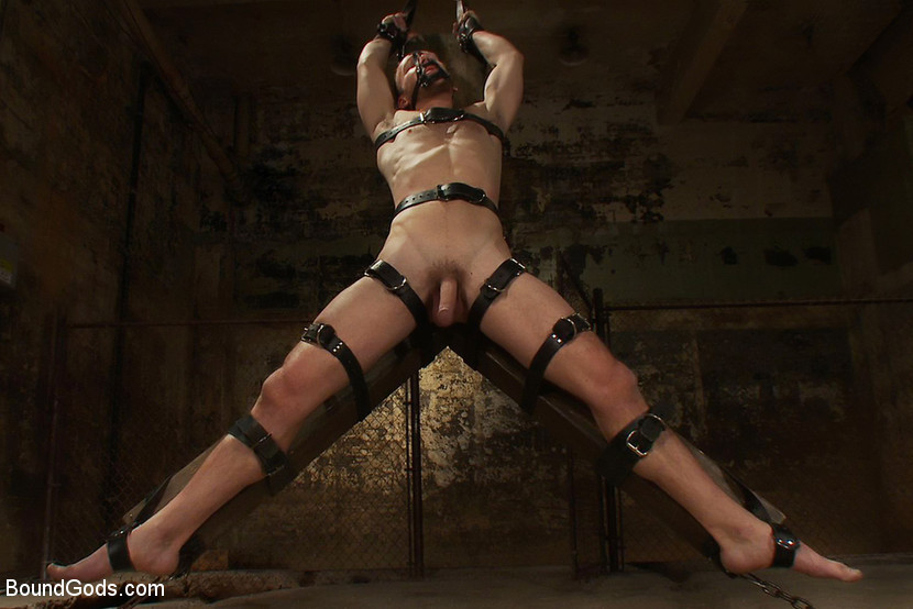BestBDSM24.com - Image 10842 - A Bound Gods member gets tied up, abused and fucked till he begs for mercy.