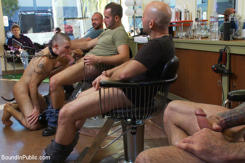 BestBDSM24.com - Image 11258 - Shaved and fucked in a busy barbershop