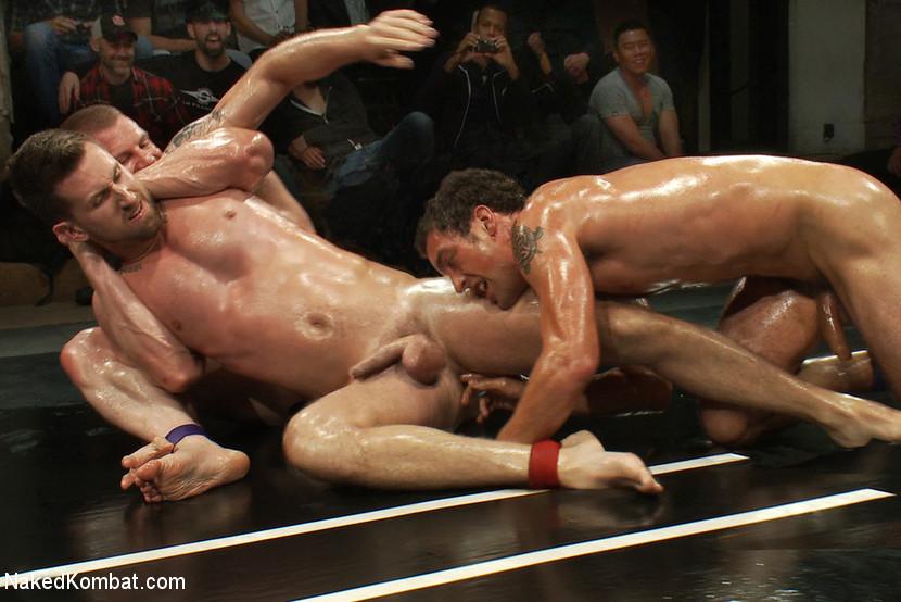 BestBDSM24.com - Image 13126 - Cameron Adams and Phenix Saint vs Blake Daniels and DJ  Live Audience Tag Team Match