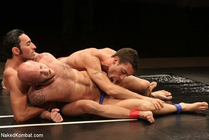 BestBDSM24.com - Image 13498 - Drake Jaden & Blake Daniels vs DJ & Gianni Luca  Live Audience Tag Team Match