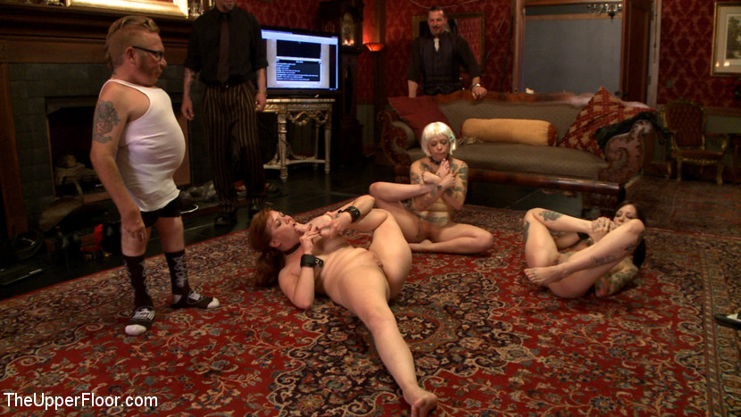 BestBDSM24.com - Image 14223 - The House slaves Showcase their Foot Job Skills