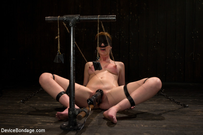 BestBDSM24.com - Image 15187 - Red Hair Fair Skin - finger fucked, machine fucked, extreme nipple play, hot wax, hard caning.