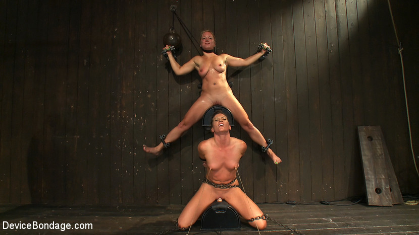 BestBDSM24.com - Image 15161 - Nipple brutality on the sybian until sweaty and wrecked