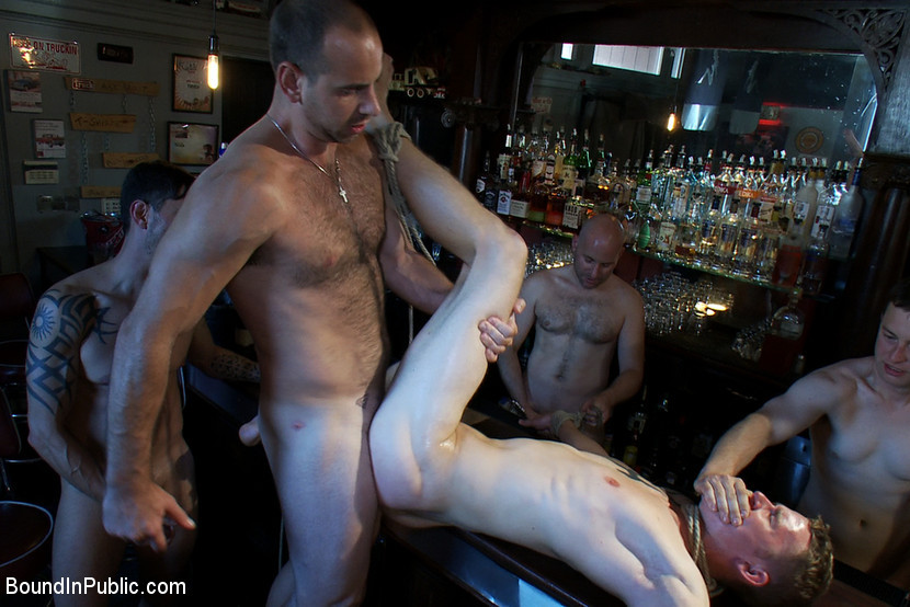 BestBDSM24.com - Image 15822 - The Brooks - gets piss in the mouth and licks cum off the dirty floor.