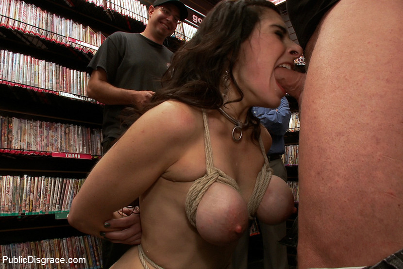 BestBDSM24.com - Image 15933 - Hot MILF With Big Tits Gets Disgraced and Ass Fucked in Porn Store