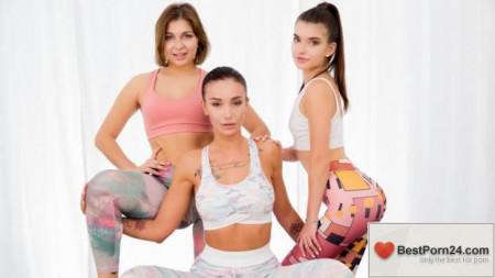 Lez Cuties – Hazel Dew, Mia Richi & Nata Paradise