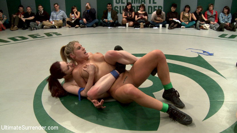 BestBDSM24.com - Image 21514 - RD 1/4 of March's Live Tag Team Match: Totally non-scripted collegian style sexual lesbian wresting!