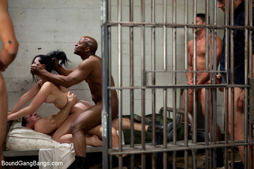 BestBDSM24.com - Image 22355 - French Hottie gets pounded by 5 prison guards