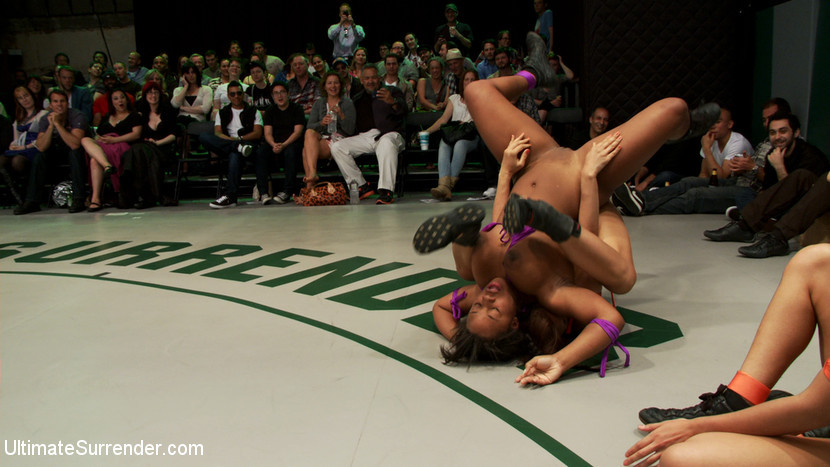 BestBDSM24.com - Image 22468 - RD 1of April's Live Tag TeamRain DeGrey & Yasmine Loven vs The Dragon & Lyla Storm