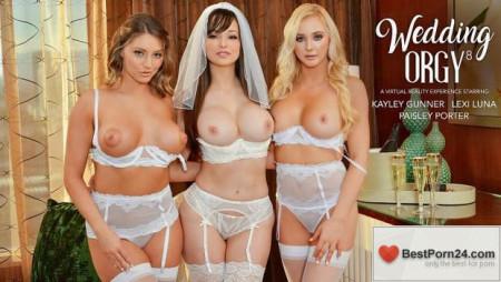 Naughty Weddings – Kayley Gunner, Lexi Luna & Paisley Porter