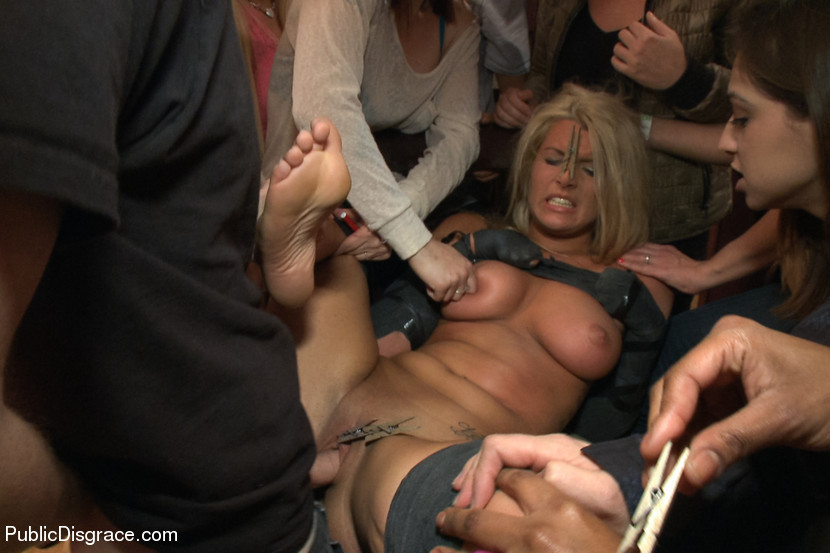 BestBDSM24.com - Image 29374 - Hot Blonde Girl gets Disgraced at a house Party