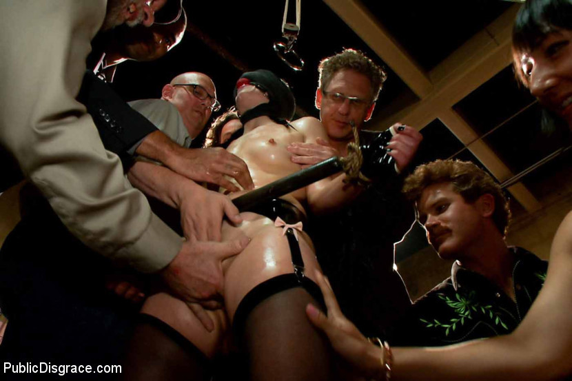 BestBDSM24.com - Image 29616 - THE LAST LAUGH: Audience of 70 Humiliates Juliette March, Giggling Tight Bodied Whore!!