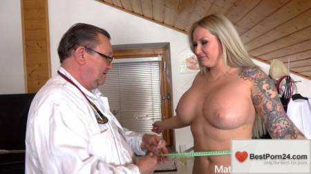 Mature Gyno Exam - Jarushka Ross