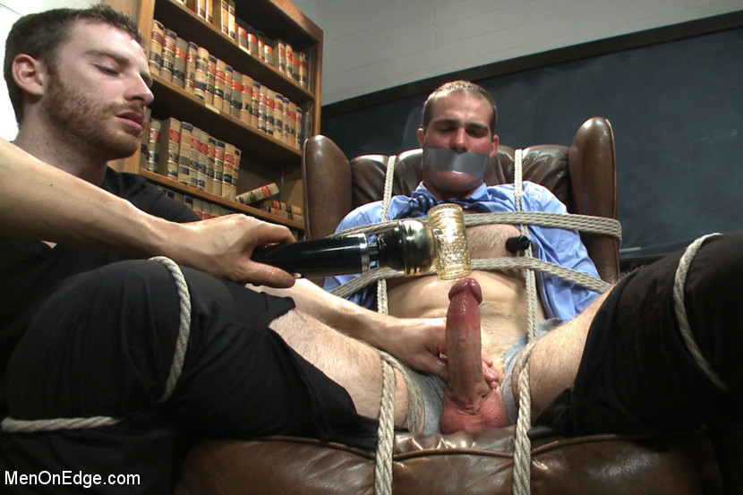 BestBDSM24.com - Image 35374 - Straight professor gets edged and dildo fucked in the classroom