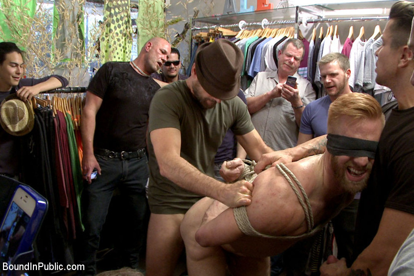 BestBDSM24.com - Image 35340 - Greedy whore stuffed full of cock at a local clothing store