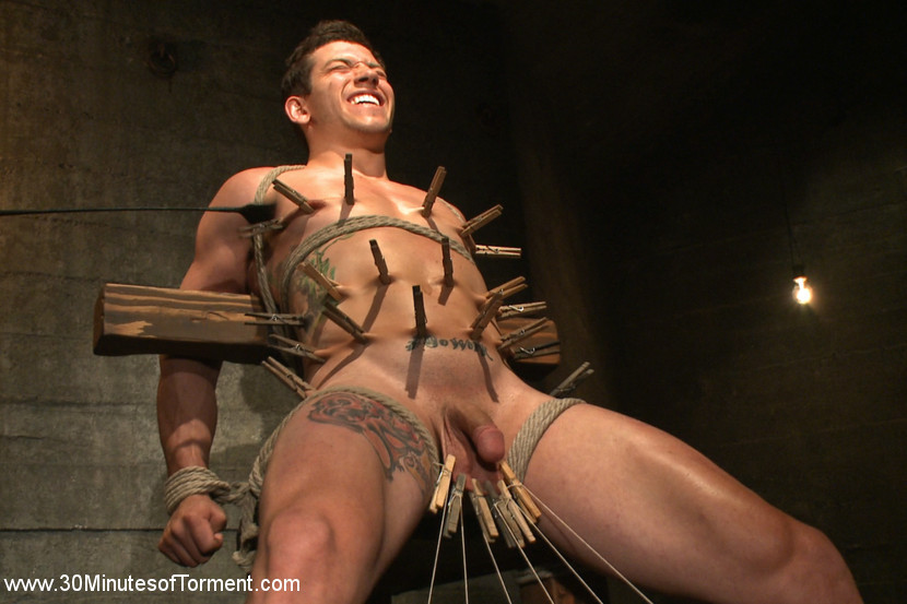 BestBDSM24.com - Image 35708 - Straight stud gets his ass tormented by a cock for the very first time