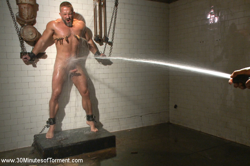 BestBDSM24.com - Image 35937 - Muscled hunk Dirk Caber relentlessly tormented and his ass violated