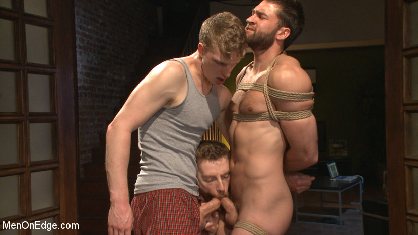 BestBDSM24.com - Image 37403 - Bound Abel Archer Cums w/o Even touching his cock!