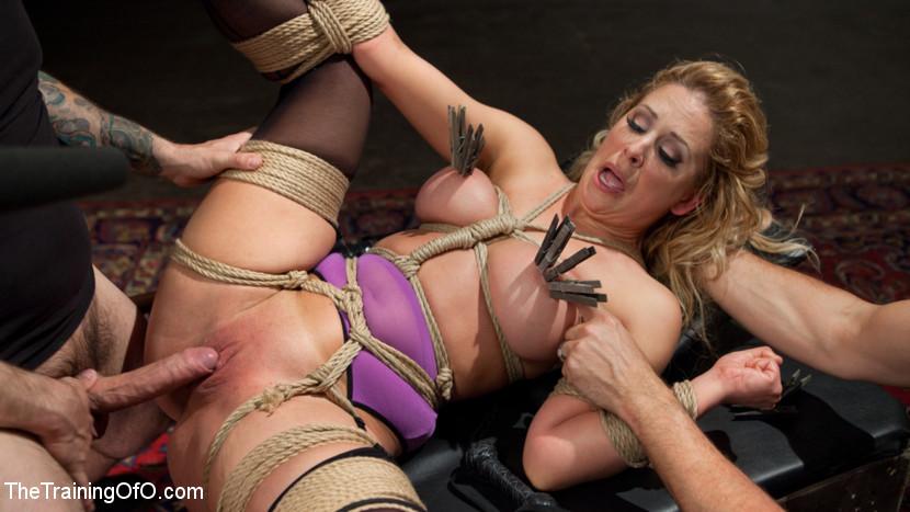 BestBDSM24.com - Image 37664 - Slave Training a Big Tit Blonde Bombshell In Bondage, Day One