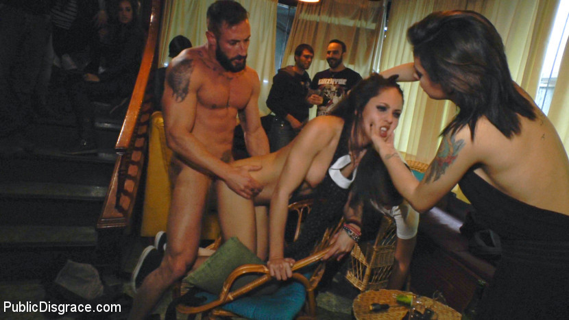 BestBDSM24.com - Image 37781 - Perky Carolina Abril is Ravaged and Shamed in Crowded Bar