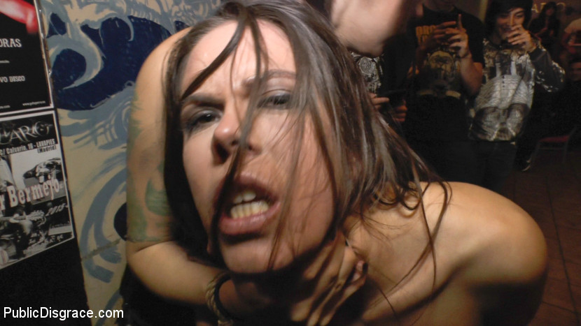 BestBDSM24.com - Image 37782 - Beautiful Spanish Slut Completely Humiliated on Stage at Live Concert