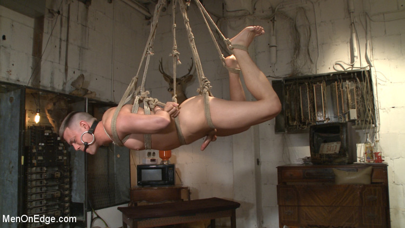BestBDSM24.com - Image 37707 - Smug techie gets taught a lesson while relentlessly edged in mid-air