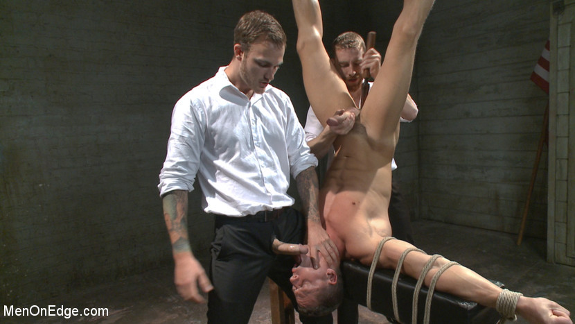 BestBDSM24.com - Image 37896 - Muscled jewel thief has his uncut cock edged with the Mouth of Anubis