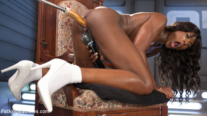 BestBDSM24.com - Image 38265 - Ebony Barbie Squirts On Massive Cocks And Begs For More!!