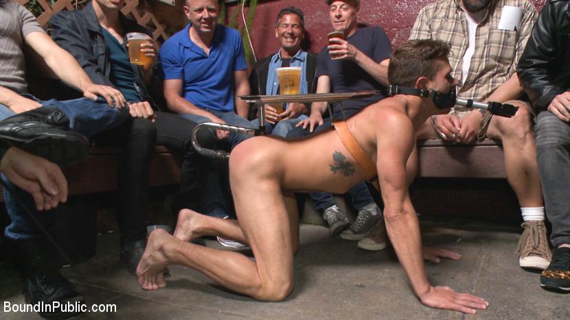 BestBDSM24.com - Image 38647 - Go-go dancer serves his bar with mouth & ass for SF Pride