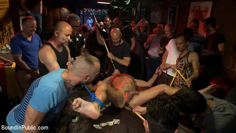 BestBDSM24.com - Image 38646 - Horny bar patrons have fun with the hot go-go dancer for SF Pride!