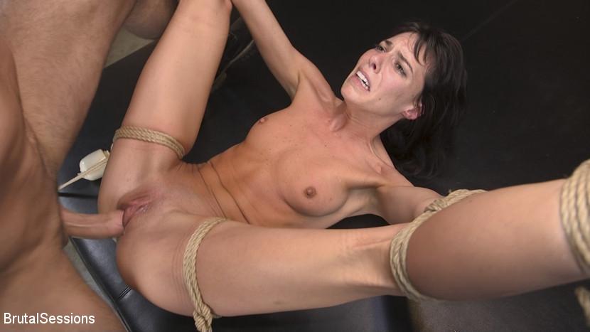 BestBDSM24.com - Image 43366 - Skinny Newbie Lexi Foxy gets her Tiny Pussy Pounded in Brutal Bondage