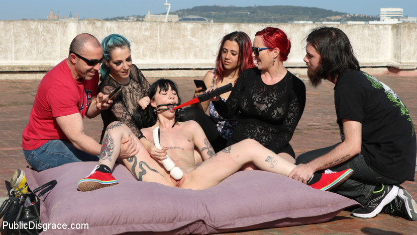 BestBDSM24.com - Image 43341 - Spooky Submissive Slut Charlotte Sartre Gets Boned in a Graveyard!