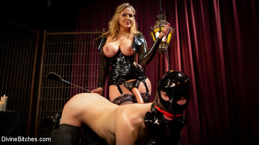 BestBDSM24.com - Image 43324 - Latex Goddess Julia Ann Dominates Dripping Cock Whore