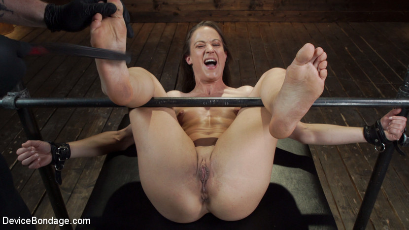 BestBDSM24.com - Image 44718 - Cheyenne Jewel: Body Builder is Restrained in Diabolical Devices