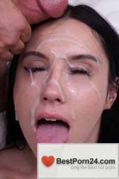 Jesse Loads Monster Facials – Jazmin Luv