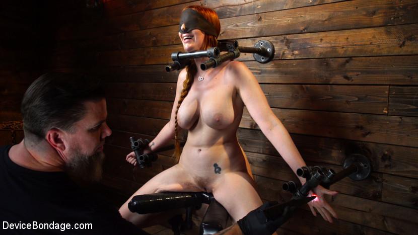 BestBDSM24.com - Image 45065 - Lauren Phillips: Helpless Redhead in Brutal Bondage Made to Cum