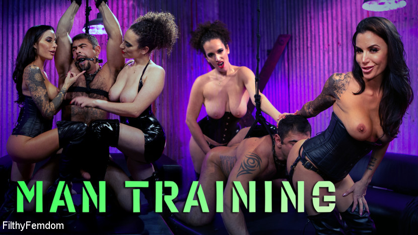 BestBDSM24.com - Image 45822 - Man Training: Gia Dimarco and Mistress Blunt Dominate Clueless Man