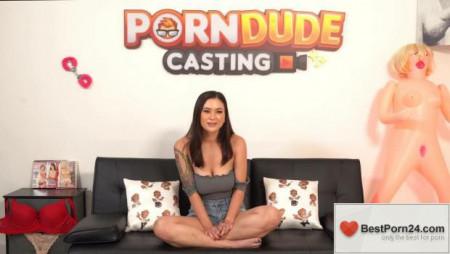 Porn Dude Casting – Jasmine Wilde